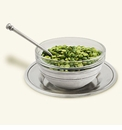Match Italian Pewter Condiment Uno With  Spoon & Saucer