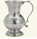 Match Italian Pewter Large Pitcher