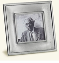 Match Italian Pewter Lombardia Square Frame Small