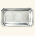 Match Italian Pewter Lorenzo Rectangle Serving Dish