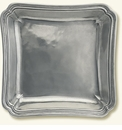 Match Italian Pewter Lorenzo Square Serving Dish