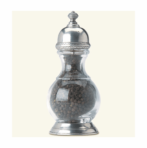 Match Italian Pewter Lucca Pepper Mill