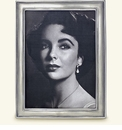 Match Italian Pewter Lugano Rectangle Frame Large