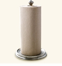 Match Italian Pewter Paper Towel Holder