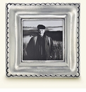 Match Italian Pewter Trentino Square Frame Small