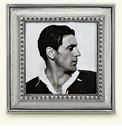 Match Italian Pewter Veneto Square Frame Large