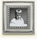Match Italian Pewter Veneto Square Frame Small