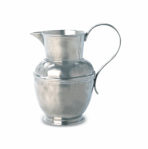 Match Italian Pewter Water Pitcher