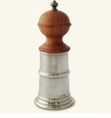 Match Italian Pewter Wood & Pewter Pepper Mill