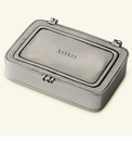 Match Italian Pewter XOXO Box Small