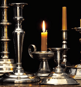 Match Pewter Candelabras, Candle Sticks, Hurricanes and Lamps