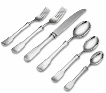 Match Pewter Olivia Flatware and Serving Pieces