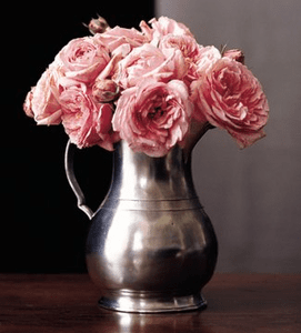Match Pewter Vases and Centerpieces