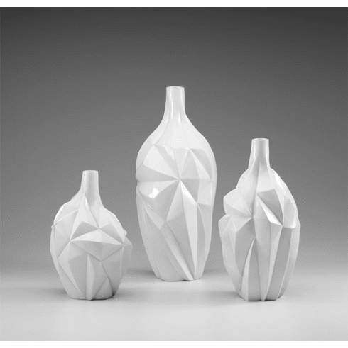 Medium Glacier Vase by Cyan Design (Small & Large Vase Sold Separately)