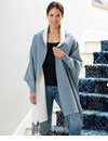 Mer Sea Napa Reversible Wrap - Grey-White