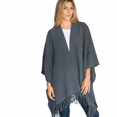 Mer Sea Travel Wrap Storm (Charcoal Grey)