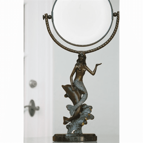 Mermaid & Dolphin Mirror by SPI Home
