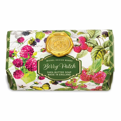 Michel Design Works Berry Patch Large Bath Soap Bar