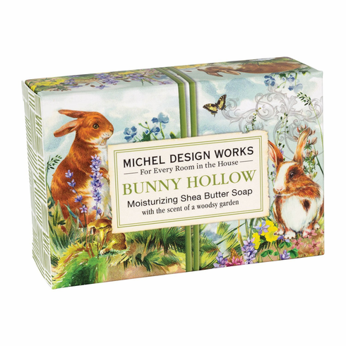 Michel Design Works Bunny Hollow 4.5 oz. Boxed Soap