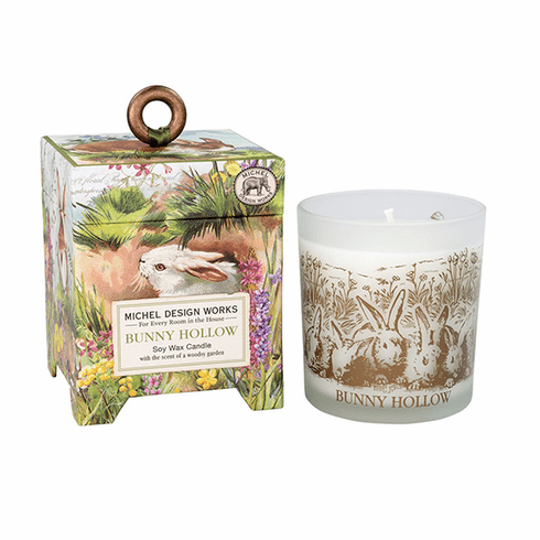 Michel Design Works Bunny Hollow 6.5 oz. Soy Wax Candle