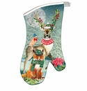 Michel Design Works Christmas Party Oven Mitt