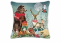 Michel Design Works Christmas Party Square Pillow