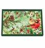 Michel Design Works Christmas Pine Vanity Decoupage Wooden Tray