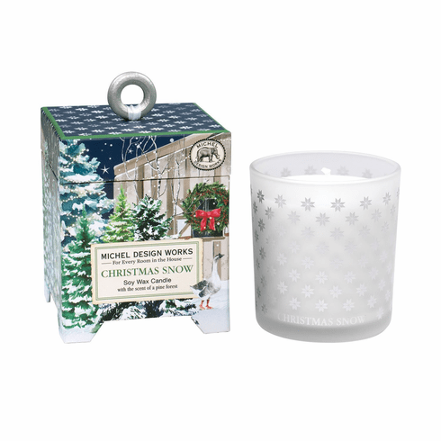 Michel Design Works Christmas Snow 6.5 oz. Soy Wax Candle