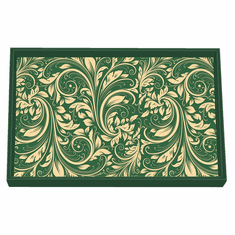 Michel Design Works Christmas Time Vanity Decoupage Wooden Tray