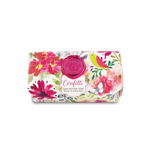 Michel Design Works Confetti Large Bath Soap Bar