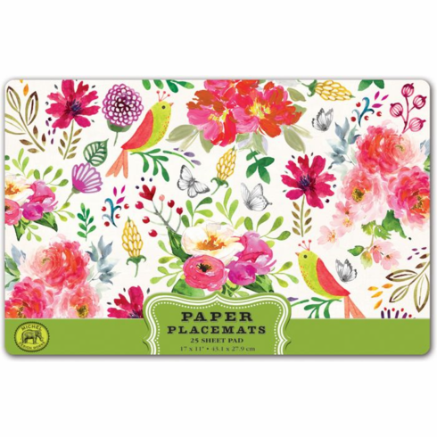 Michel Design Works Confetti Paper Placemats