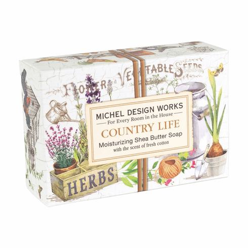 Michel Design Works Country Life 4.5 oz. Boxed Soap