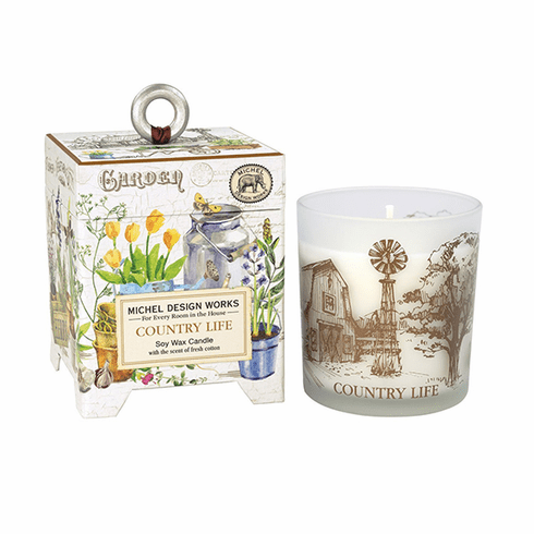 Michel Design Works Country Life 6.5 oz. Soy Wax Candle