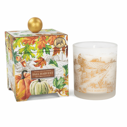 Michel Design Works Fall Harvest 14 oz. Soy Wax Candle
