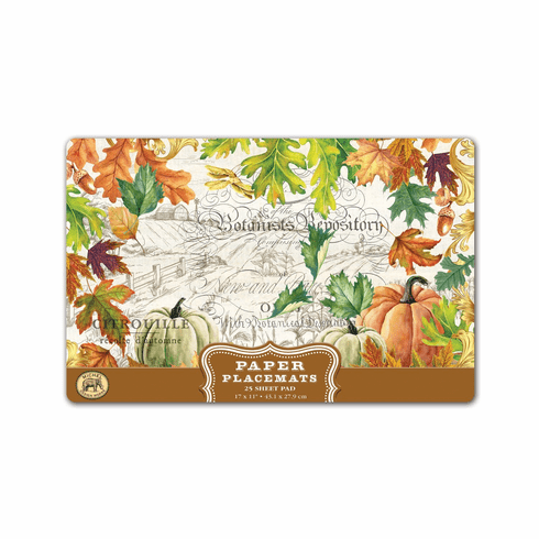 Michel Design Works Fall Harvest Placemats