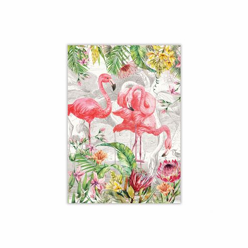 Michel Design Works Flamingo Kitchen Towel