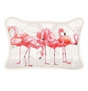 Michel Design Works Flamingo Rectangular Pillow