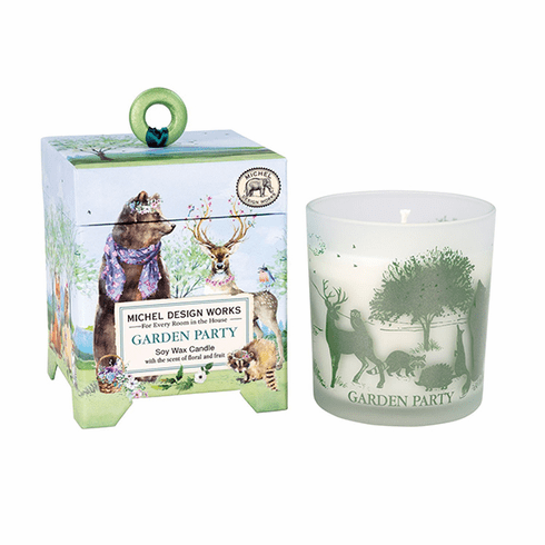 Michel Design Works Garden Party 6.5 oz. Soy Wax Candle
