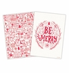 Michel Design Works Ho Ho Ho Kitchen Towel Set of 2 Assorted