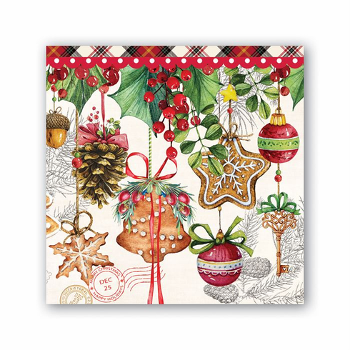 Michel Design Works Holiday Treats Cocktail Napkin