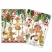 Michel Design Works Holiday Treats Kitchen Towel Set of 2 Assorted