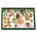 Michel Design Works Holiday Treats Vanity Decoupage Wooden Tray