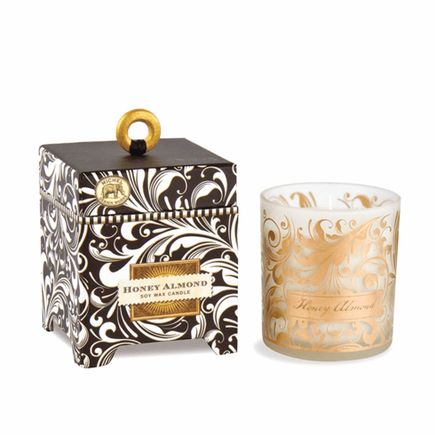 Michel Design Works Honey Almond 6.5 oz. Soy Wax Candle