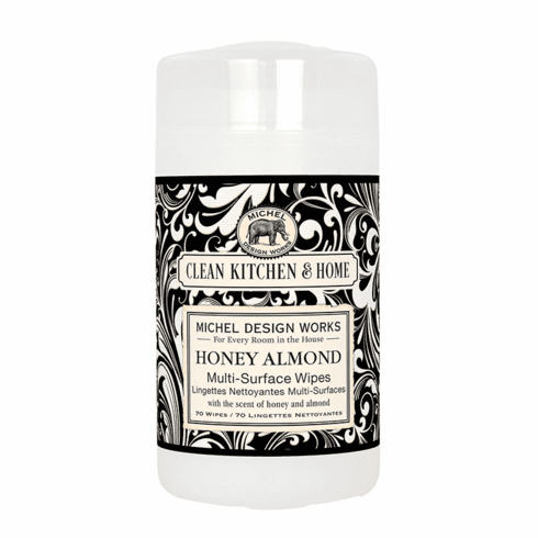 Michel Design Works Honey Almond Multi Surface Wipes