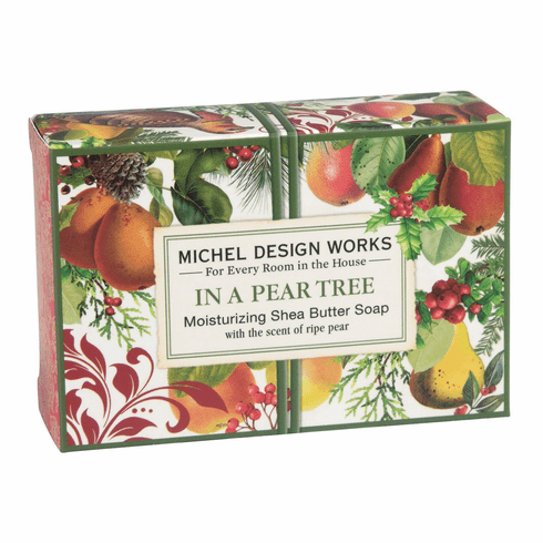 Michel Design Works In a Pear Tree 4.5 oz. Boxed Soap