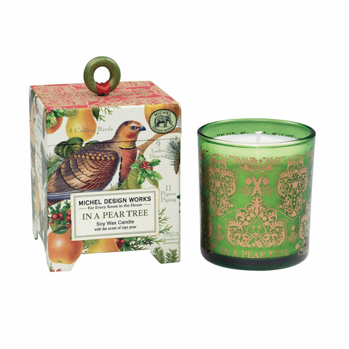Michel Design Works In a Pear Tree 6.5 oz. Soy Wax Candle