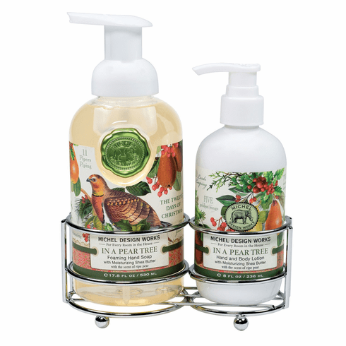 Michel Design Works In a Pear Tree Handcare Caddy
