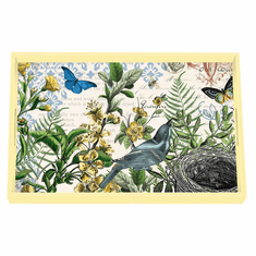 Michel Design Works Into the Woods Vanity Decoupage Wooden Tray