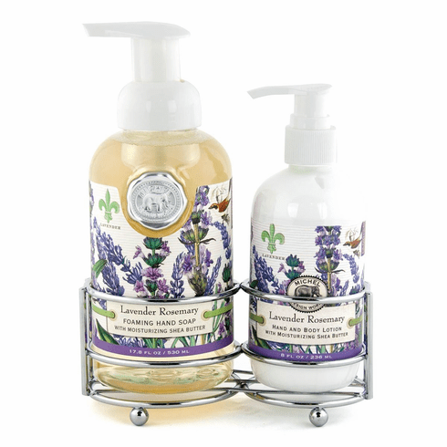 Michel Design Works Lavender Rosemary Handcare Caddy