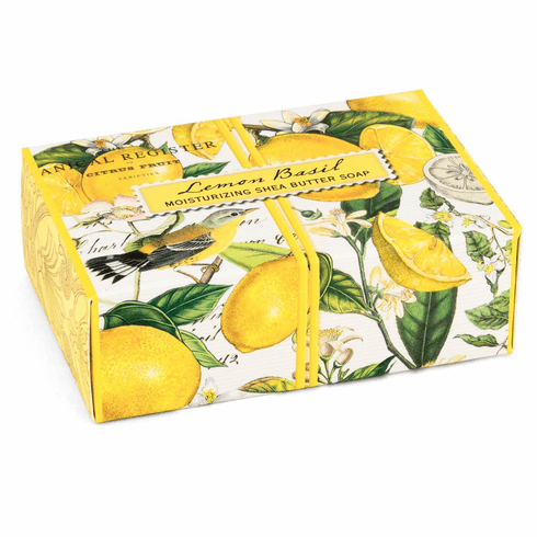 Michel Design Works Lemon Basil 4.5 oz. Boxed Soap